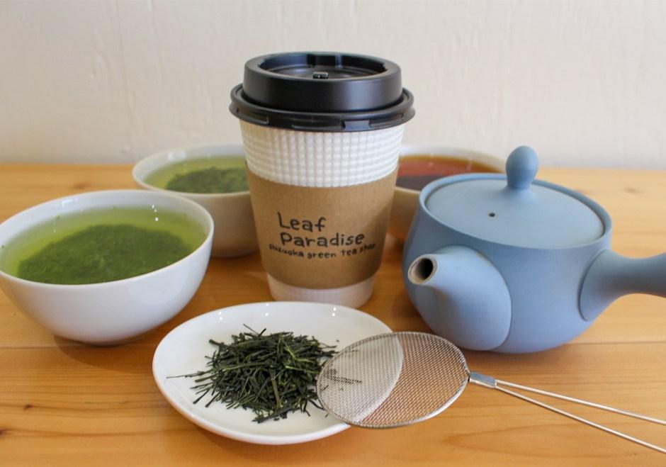 -Leaf Paradise- Great Shizuoka tea is awaiting for you!