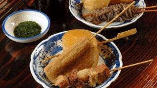 """Shizuoka Local Food """"Shizoka Oden"""