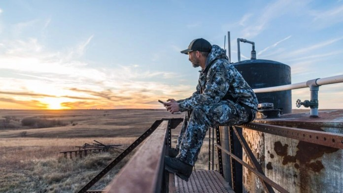 onX Hunt maps—hunting looking over public lands