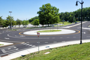 roundabout accidents