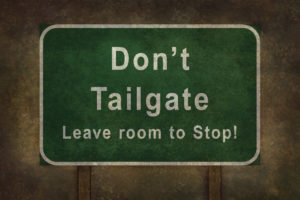 end tailgating