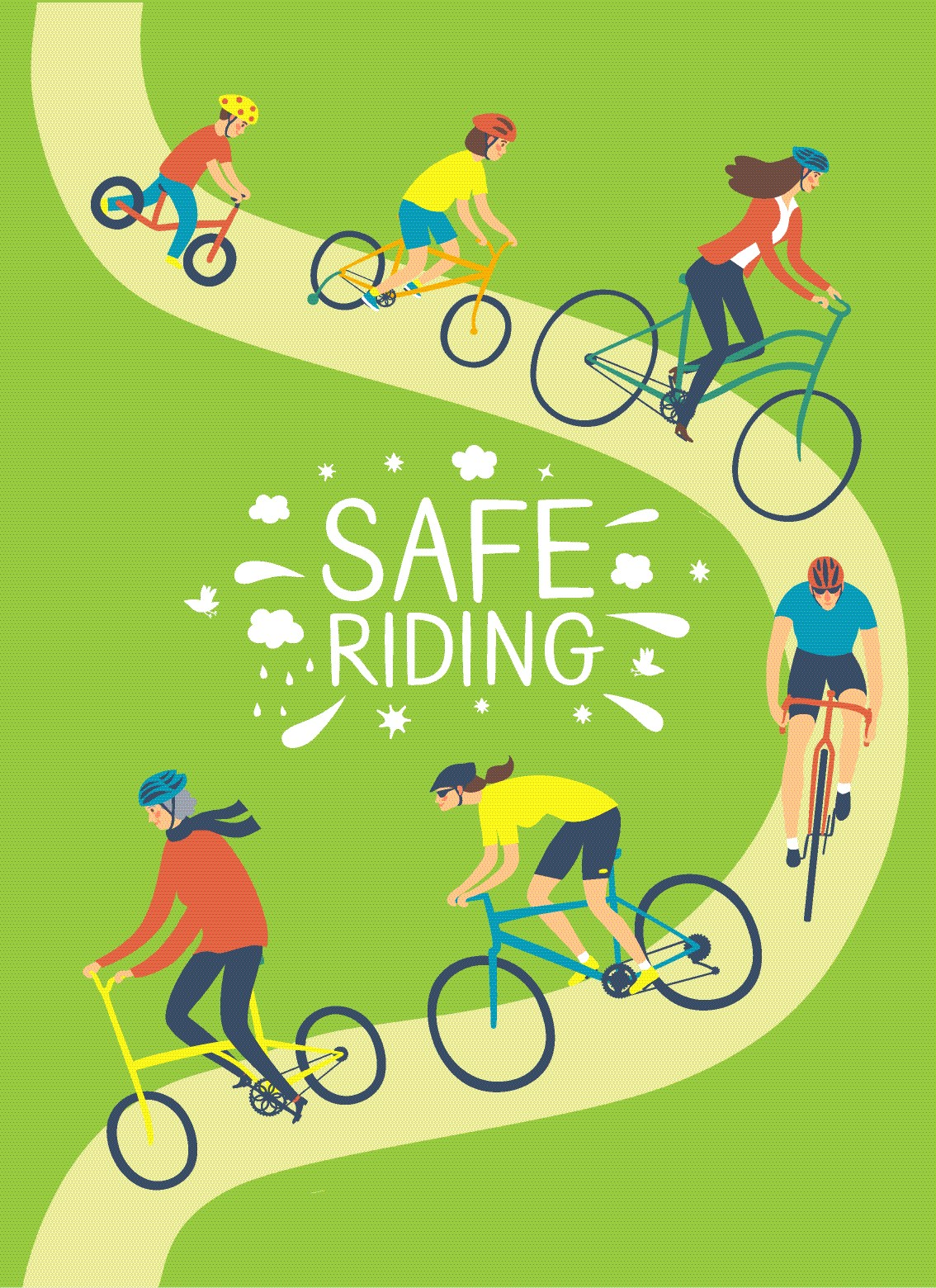 ride safely to avoid a bicycle accident