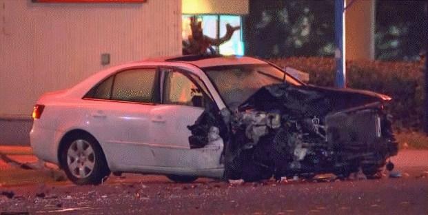 Suspected DUI injury crash closes SR 99