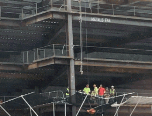 Workplace Safety Concern: Construction Worker Falls 80 Feet Off Seattle Building
