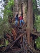 Martin und Nick im Washington Olympic-Nationalpark (Foto: Kari Wilton)