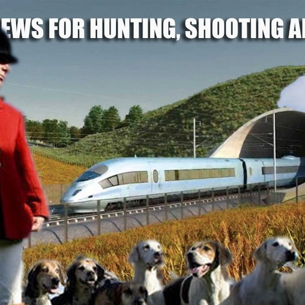 HS2: bad news for fieldsports