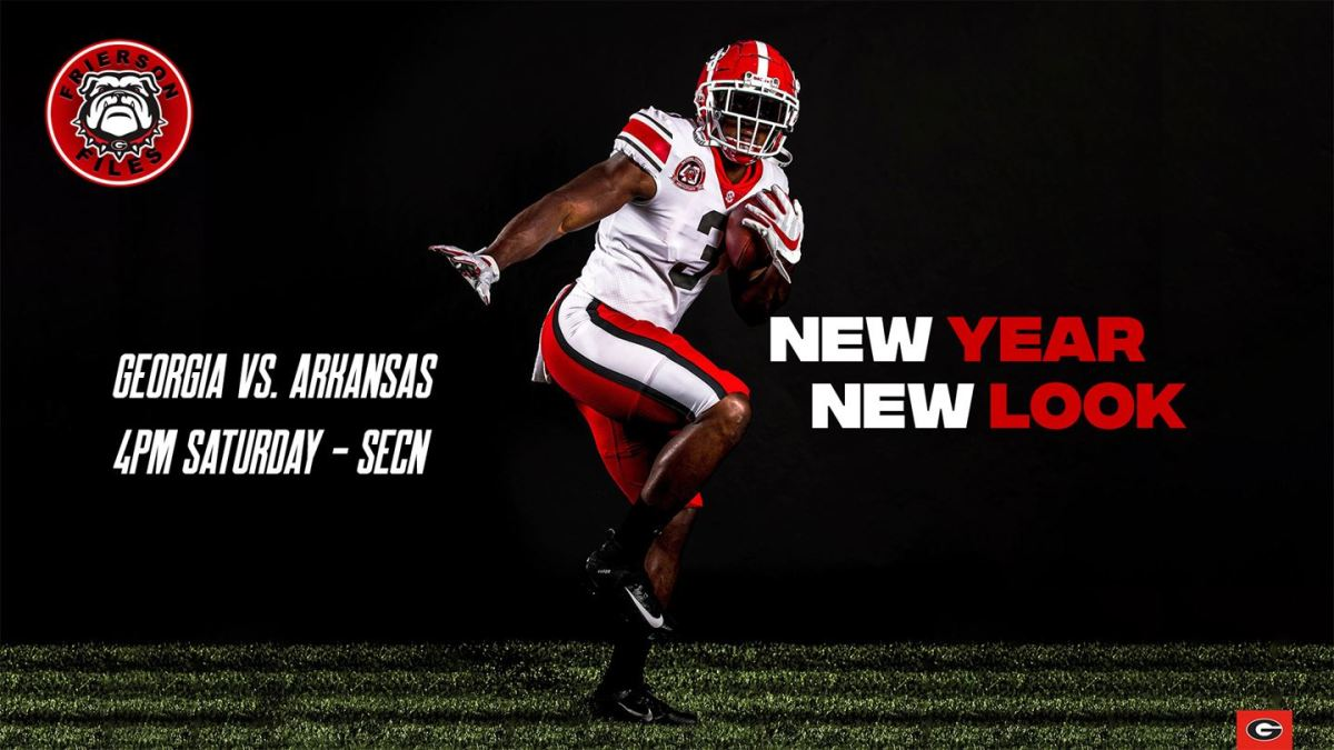 Uga Football A New Year A New Look Field Street Forum