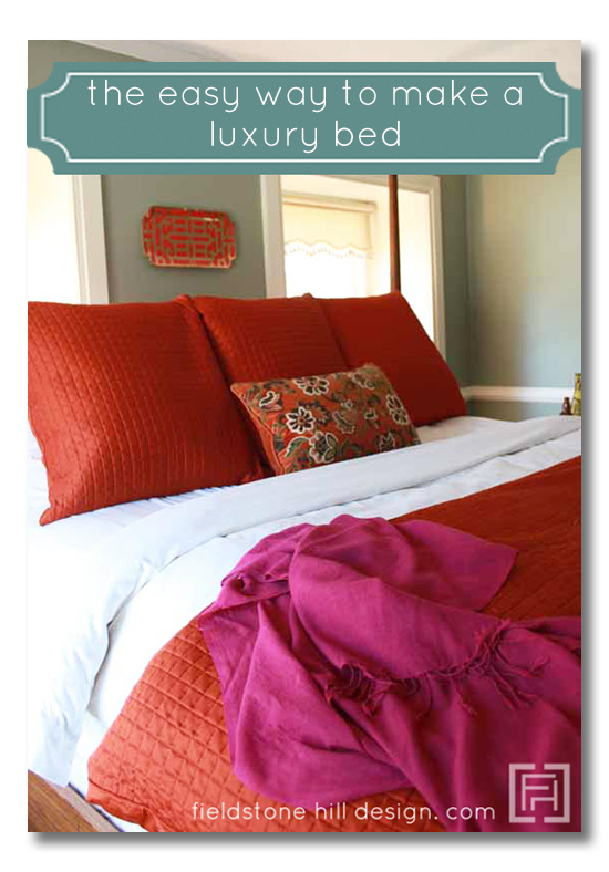 How to make a luxury bed