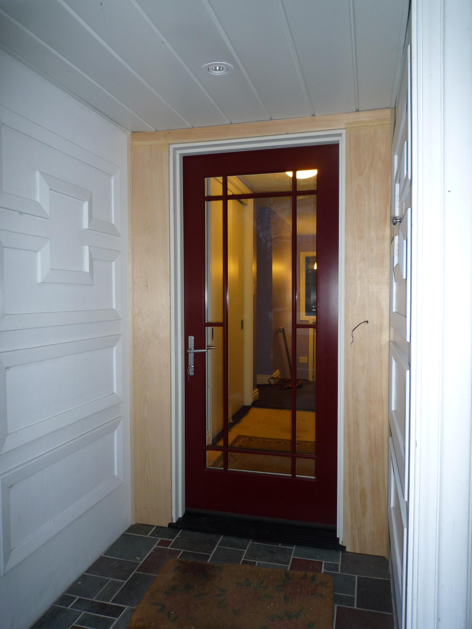 Prairie Style Entry Door Scarborough Fieldstone Windows