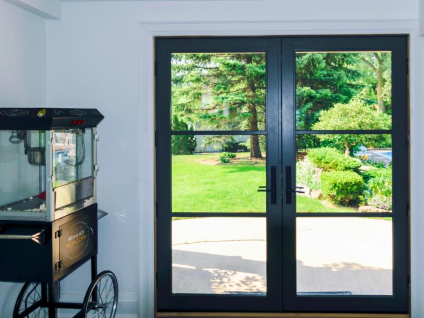 Rail And Stile Fiberglass French Doors Fieldstone