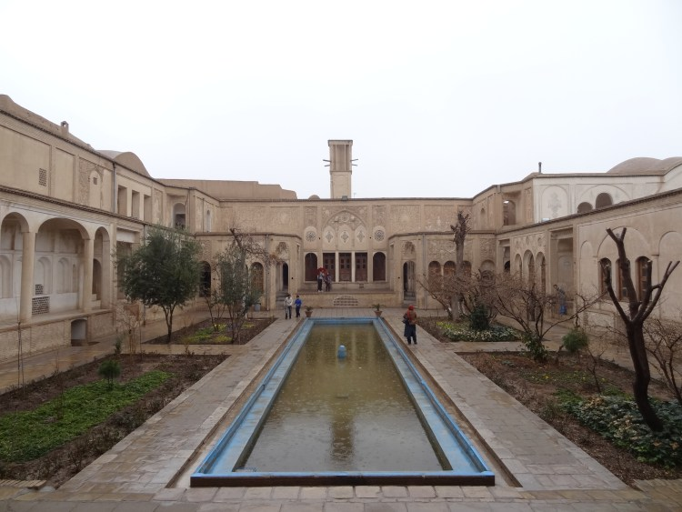 House in Kashan with a windcatcher