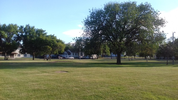 Park in McLaughlin on Standing Rock Reservation