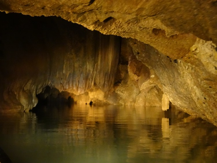 Barton Creek Cave, one of the holy caves used by the Maya