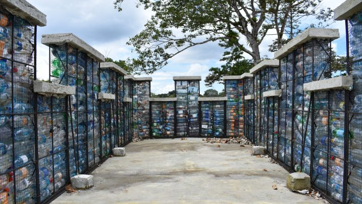 How the Plastic Bottle Village is turning waste into a resource