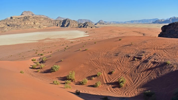 Self-sufficiency and tourism in the Wadi Rum Desert