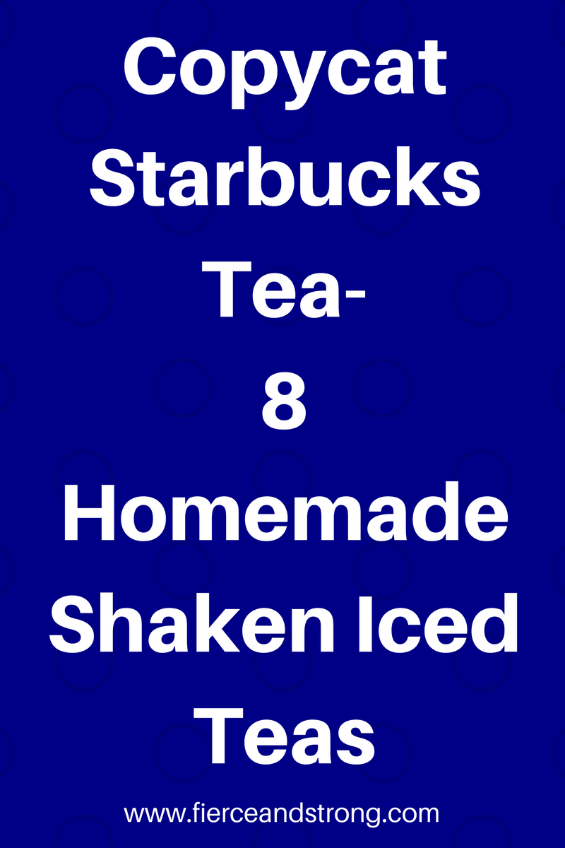 starbucks tea