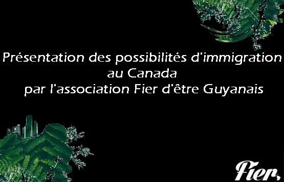 Retour d'expérience Canada : possibilités d'immigration