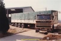 Transports DELISLE Scania 110 Savoyarde