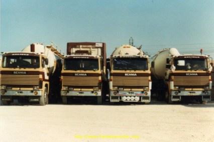 Transports DELISLE sur le parc, Scania 111 et 110