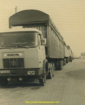 Henschell sur la route de Vigo