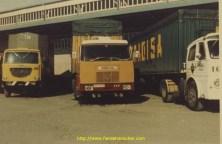Henschell à la douane IRUN