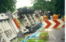 Mon accident à Allaire