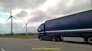 Sous les éoliennes St Martin de Crau