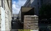 Livraison au hayon dans Paris centre