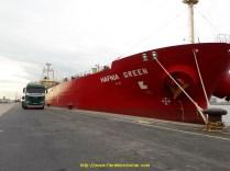 ...vidé directement au bateau à Anvers.