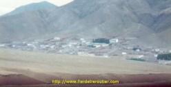 En Turquie, des maisons construites pratiquement sous terre.