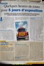 reportage pour une revue de matériel agricole