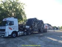 tourets de gaine plastique de 4,30m de diamètre