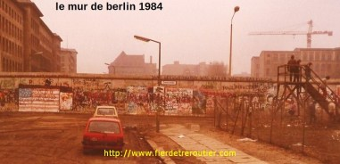 berlin le mur 1984