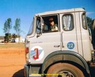Dans le Berliet TR250 du fils Joos.