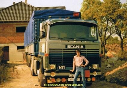 Avec le Scania des transports Goettman