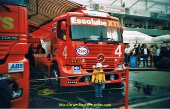 Au GP du Nurbungring en 2001.