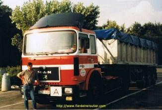 En benne pendant ma période chez AK-Straumann, Colmar 68