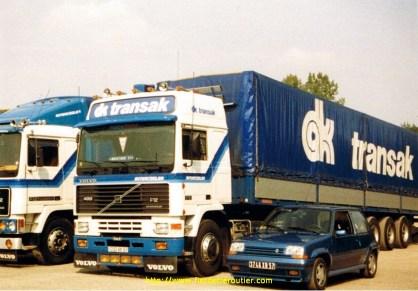 Mon F12.400 et ma Renault super5 turbo en 1988