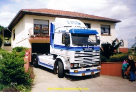 Le Scania 143.450 de mon copain Claude