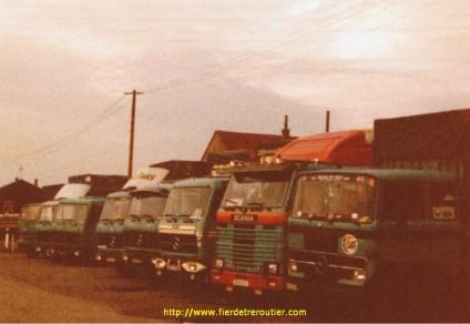 Altrans en 1982 et mon Scania142