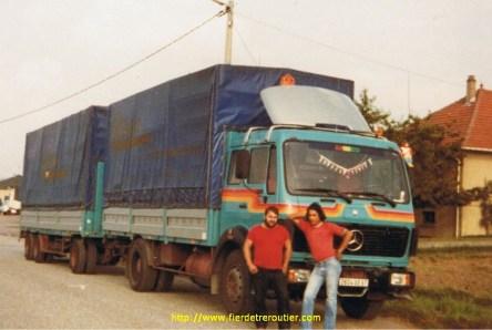 Le MB1928 en camion remoqrue