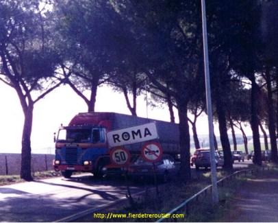A Roma en Italie