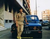 Devant ma BMW série 5