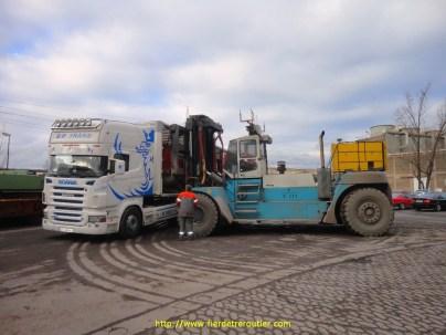 BP TRÄNS et un méga KALMAR en RFA