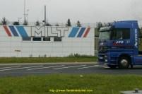 Le QG de MLT, lieu de chargement des Smart à Hambach 57