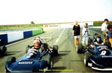 A Magny-Cours en f3 avec le team AK-Transak en 1992