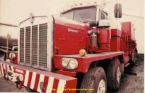 Kenworth C500 équipé de matériel de pompage