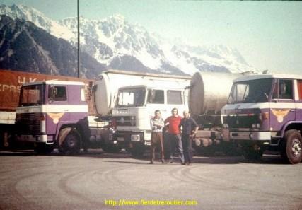 Séance photo au Mont Blanc...