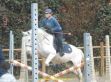 on est proprio, et changement de discipline, le saut d'obstacles, Noémie et Bamboo