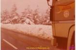 Berliet TR 280 à la neige et sous le soleil.